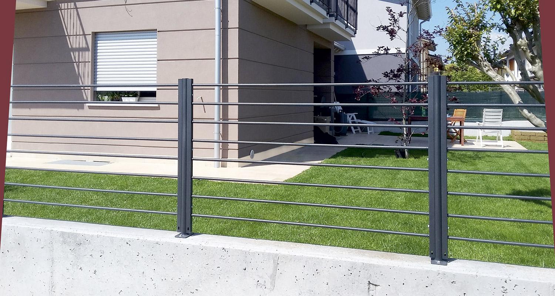 Recinzione Giardino In Ferro produzione di recinzioni, cancelli, grigliati, parapetti